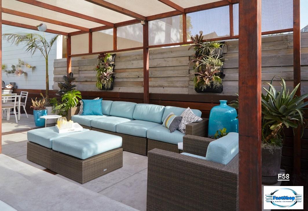 Terrasa lounge-style
