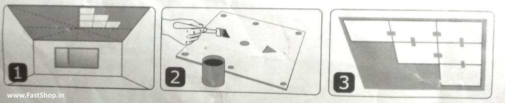 Схема поклейки потолков в Моолдове